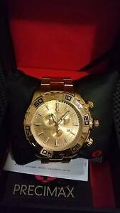 Perfect gift ,Swiss Precimax new chronograph wrist watch for sale Melbourne CBD Melbourne City Preview