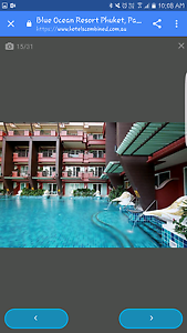 10 nights at Blue Ocean Resort Patong Kathu Shortland Newcastle Area Preview