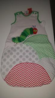 The Hungry Catepilar sleeping bag