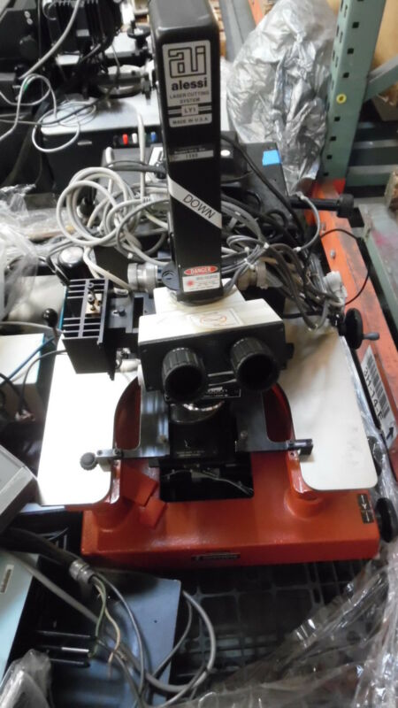 Signatone S-250 Wafer Probe Station 6 In Chuck W Accessories