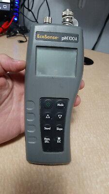 Ecosense Ph100a Ph Mv Temp Water Meter Sampler Untested