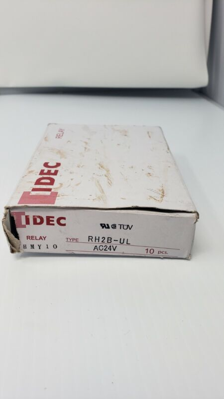 IDEC RH2B-UL DC24V Relay 10ct SEE DESCRIPTION