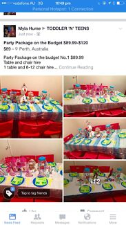 Party Package on the Budget $89.99-$120 Byford Serpentine Area Preview