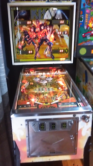 Kiss pinball machine Sydney City Inner Sydney Preview
