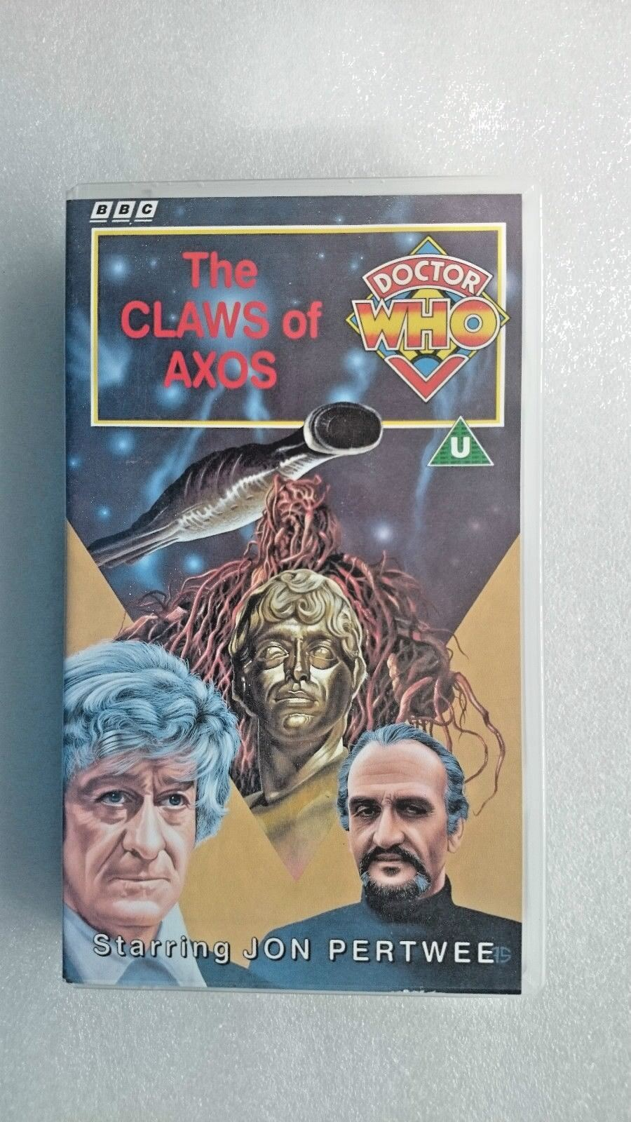 Doctor Who - The Claws Of Axos (VHS) - Jon Pertwee