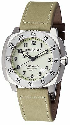 JeanRichard Highland Mens watch 60150-11-711-hdaa Brand New! JR Warranty!