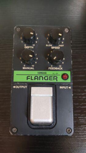Yamaha FL-01 Analog Flanger Rare Vintage Guitar Effect Pedal MIJ from JAPAN