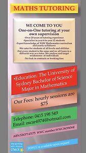Maths tutor Homebush Strathfield Area Preview