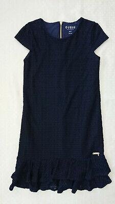 festlich edel dunkelblau navy Größe 6X/7 122 (Navy Kleid Mädchen)