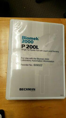BECKMAN BIOMEK 2000 P200L SINGLE TIP PIPETTE TOOL
