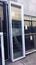 Louvre - 2400h x 705w White Louvre Window w/ Clear Glass Loganholme Logan Area Preview