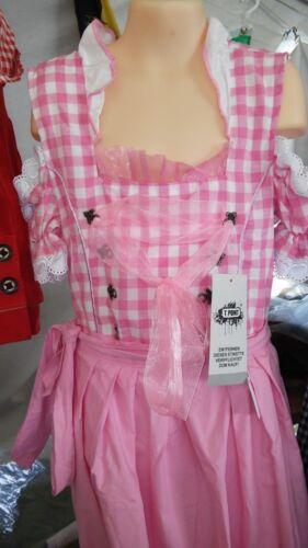 Girls,Kids,US size 10,Germany,German,Trachten,May,Oktoberfest,Dirndl,2-pc.Pink.