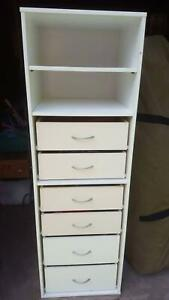 White 6 drawer cabinet Mooloolah Valley Caloundra Area Preview