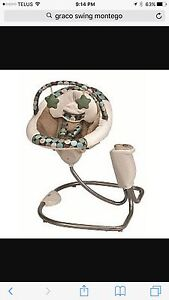 Graco swing - gently used for one child