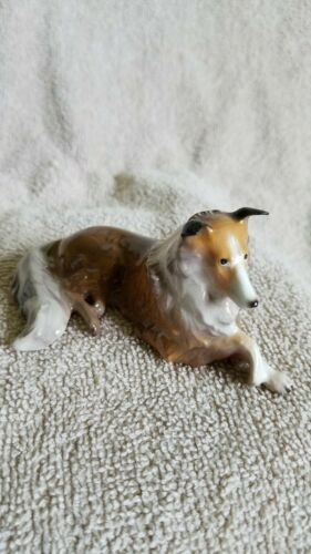 Hagen Renaker Dog Collie Figurine Specialties Collect New Free Shipping 01006