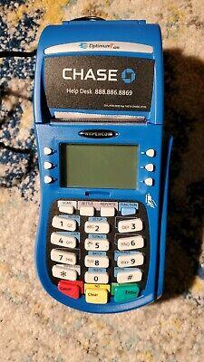 Hypercom Optimum T4210 Chase Bank Blue Works