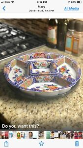 Houseware -Lady Suzy Platter Used Once- Small Appliance