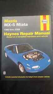 Mazda MX5 Workshop Manual Panorama Mitcham Area Preview