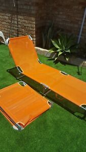 Sun beds/ loungers - $15 for 2