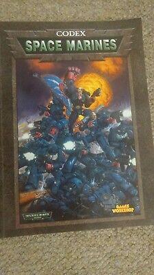 Gamea Workshop Warhammer 40k codex Space Marines 3rd Edition