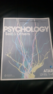 ATAR PSYCHOLOGY Year 11 & 12 Self and Others Book