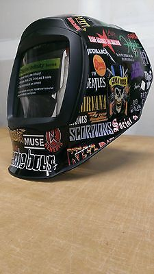 Miller Digital Infiniti 271329 Welding Helmet Wrap Decal Sticker Infinity Rock