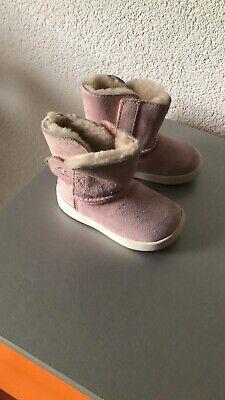 Ugg Baby Mädchen Stiefel Boots KEELAN SPARKLE Rosa 12-18 Monate Gr.20,5