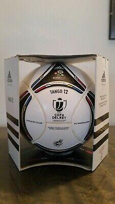 Match ball imprint athletic barcelona Copa del Rey rare adidas 2012
