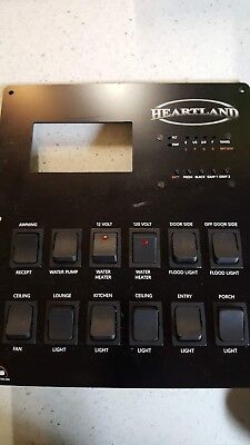 *NEW* HEARTLAND RV KIB MONITOR CONTROL PANEL M1652 *6