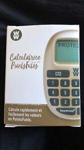 Calculatrice et carnet WeightWatchers