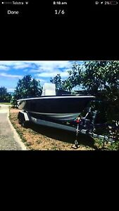 6mt Center console with new 140hp outboard motor Doonan Noosa Area Preview