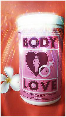 BODY LOVE (FEMALE) 32 Oz Herbal Detox--powder