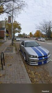 R34 Nissan Skyline 2 Fast 2 Furious tribute