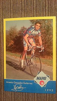 AK m.Druck.AG Arsenio Gonzalez Gutierrez Team Mapei 1995 Rarität
