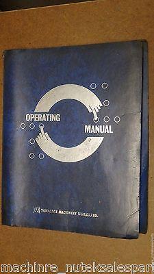 Yamazaki Mazak Quick Turn 20 Chucker Universal Operating Manualmazatrol T-1
