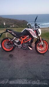 2015 KTM Duke 390 North Narrabeen Pittwater Area Preview