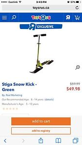 2 snow scooters 20$ each