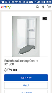 Wall recessed iron board unit Bargo Wollondilly Area Preview