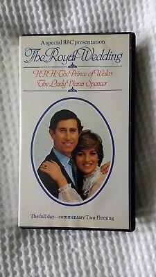 BBC Video Prince Charles & Princess Diana Royal Wedding 29th July 1981