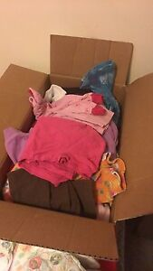 Box of 2-4T clothing