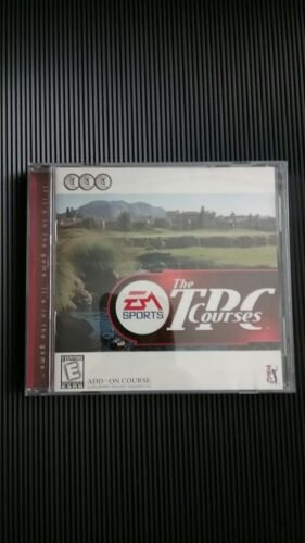 EA Sports The TPC Courses vintage PC CD-ROM game (1998).