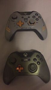 Limited Edition Halo 5 and Advanced Warfare Controller