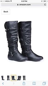 Size 11 wide calf boot