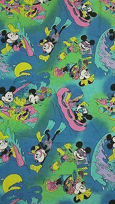 Disney Bettwäsche bedding Mickey Maus vintage Minnie 80s 90s Hawaii