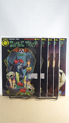 Zombie Tramp Halloween Special One Shot Cover A B C D E Action Lab Comics - Special A Halloween