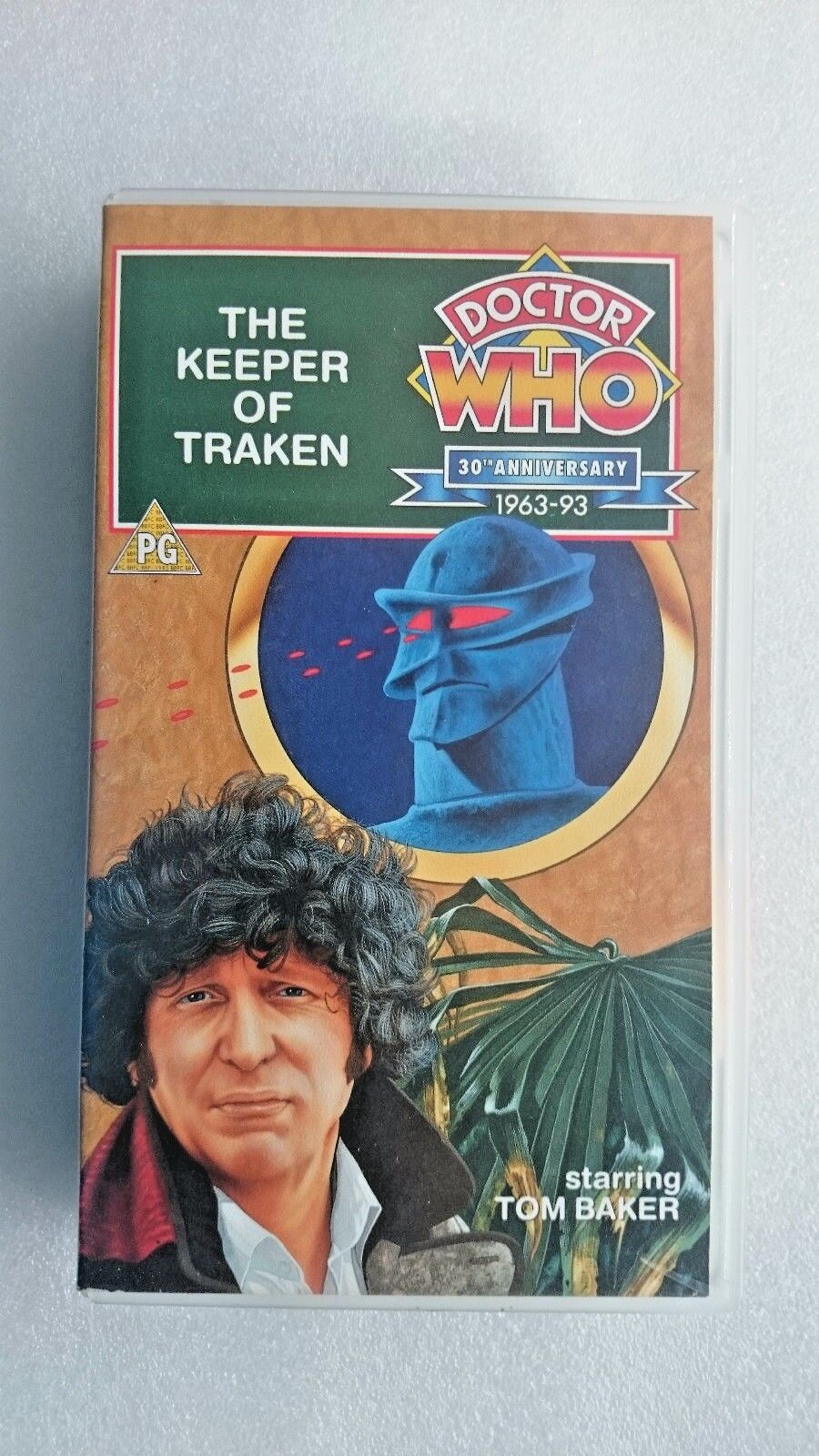 Doctor Who - The Keeper Of Traken (VHS, 1997) - Tom Baker