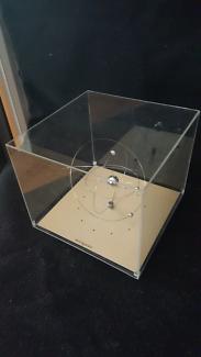 Rare retro Jeco solar system action clock