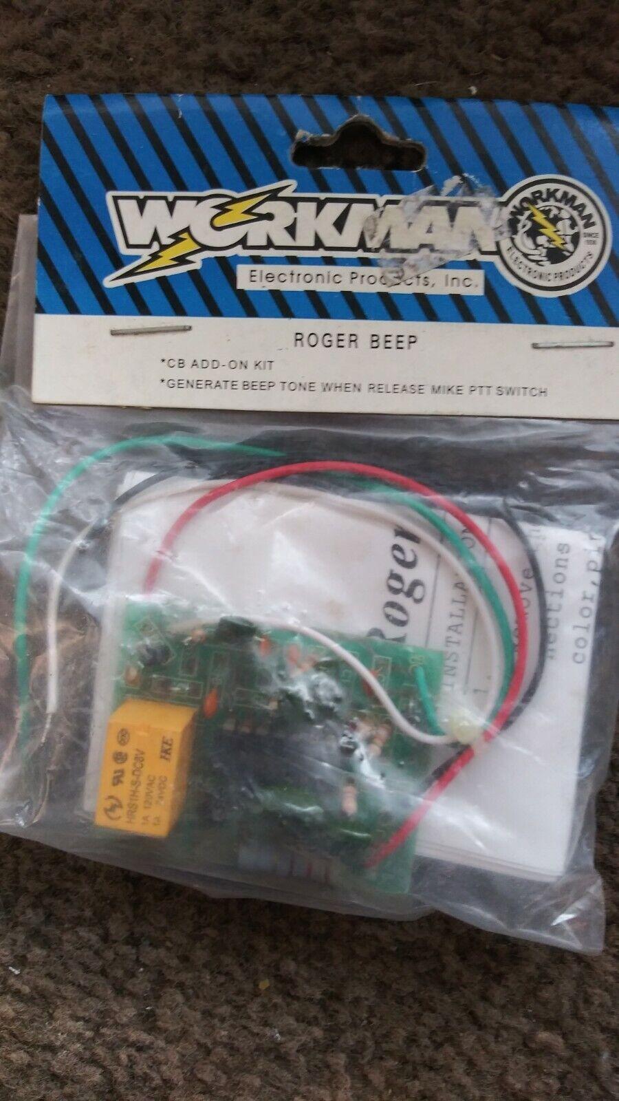 Workman Roger Beep  Board for CB Radios