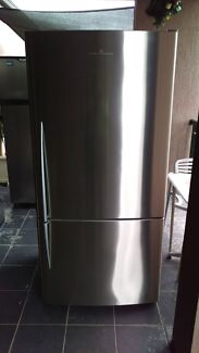 FISHER & PAYKEL 520 LITRE STAINLESS STEEL FRIDGE E522B Georges Hall Bankstown Area Preview
