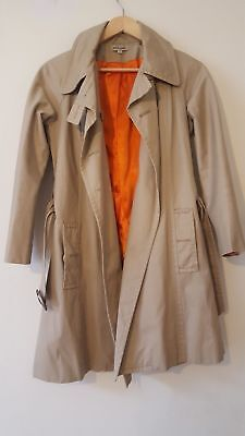J & M Davidson Trench Coat Mac, Size 12